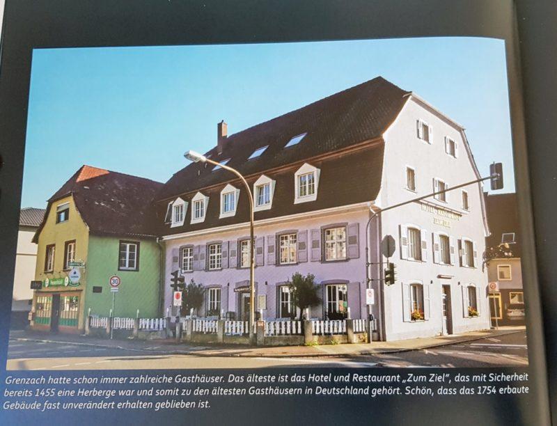"""Grenzach-Wyhlens ältestes Hotel """"Zum Ziel"""". Lorelei Gilmore: Interesse?"""