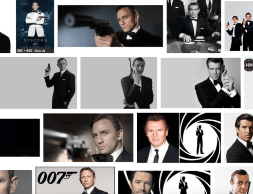 Positive Reframing bei James Bond und dem Westen.