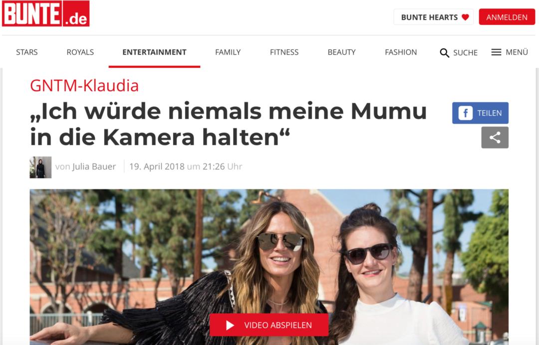 Mumu, Scheide, Vagina? Welches Wort ist angemessen? Claudia mit K von Germanys next Topmodell hat ihre Wahl getroffen.