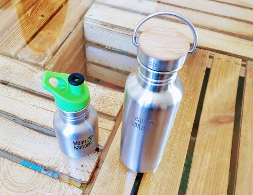 Plastik ade: Die Edelstahl-Trinkflasche in meinem Zuhause