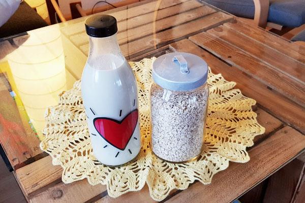 Hafermilch selber machen: Geht schnell